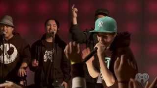 "Justin Bieber ""Eenie Meenie"" with Sean Kingston Live | iHeartRadio Concerts"