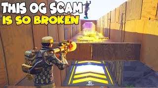 This OG SCAM is So Broken 😱 Must Watch (Scammer Gets Scammed) Fortnite Save The World