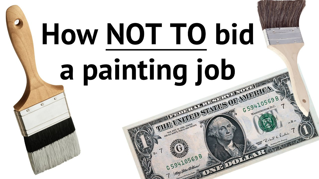 bidding a paint job