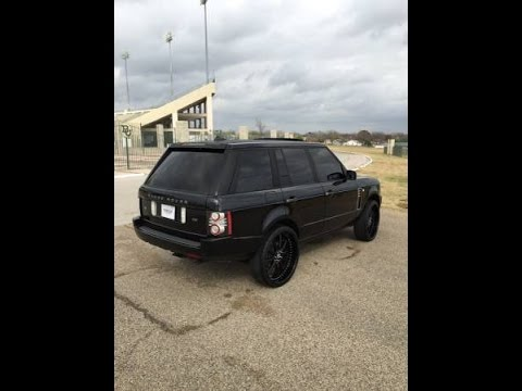 Blacked Out Range Rover  YouTube