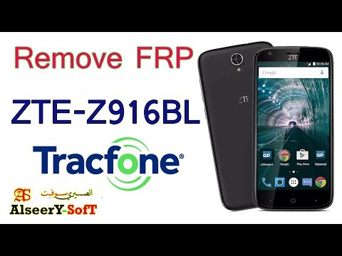 How to Bypass FRP ZTE Z916BL TracFone/Google Account