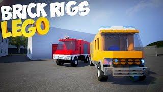 Brick Rigs | Lego | Смотр игры | Пытаюсь собрать машину