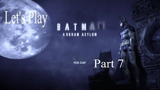 Let's Play Batman Arkham Asylum Part 7 - An Expired Libary Card