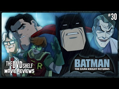 BATMAN: THE DARK KNIGHT RETURNS | The DVD Shelf Movie Reviews