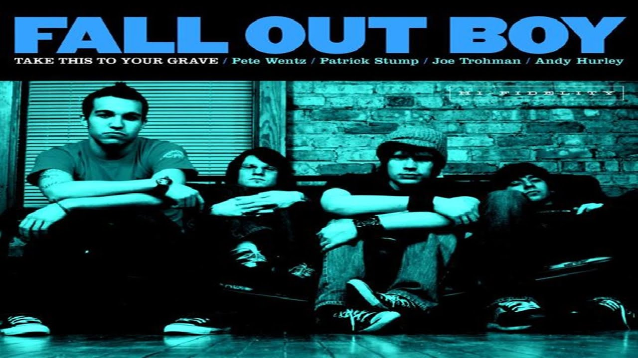 Fall Out Boy Computer Wallpaper Top 5 Best Songs From Album Take This To Your Grave Fall