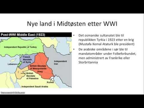 Midtøsten I Nyere Tid - 1/2 - Oversikt