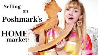 Poshmark   Selling Hard Goods on the New Home Market   Selling & Shipping Tips #thrifter #poshmark