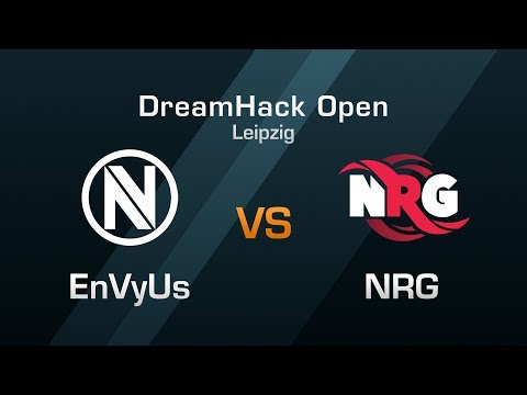 EnVyUs vs NRG - Group A Round 1- DreamHack Open Leipzig 2018