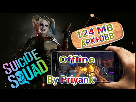 Offline Suicide Squad Special Ops APK+OBB FPS Game For Android Download Free