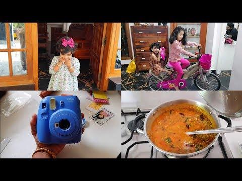A Day in my Life Vlog - Fujifilm Instax Camera Review - Moong Dal Sambar -  YUMMY TUMMY TAMIL VLOG