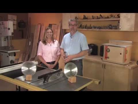 How to Safely Operate a Table Saw - DVD Promo