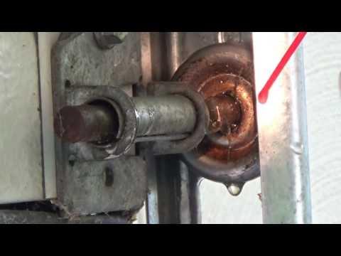 How To Fix A Stuck Garage Door