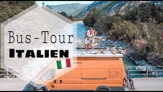 LOST in Italy - mit unserem Bus durch die Schweiz nach Italien. VLOG !