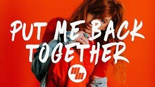 Cheat Codes Put Me Back Together Lyrics Lyric Video Ft KIIARA