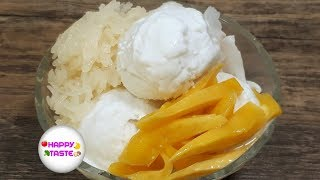 ไอติมกะทิวิธีง่ายๆ Coconut ice cream recipe | happytaste