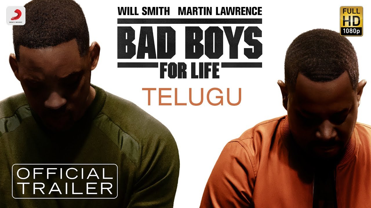Bad Boys for Life - Official Telugu Trailer | Will Smith & Martin Lawrence #1