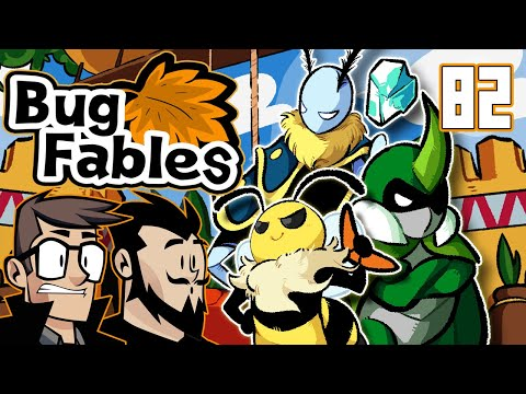 Bug Fables The Everlasting Sapling Let's Play: Fire & Flames - PART 82 - TenMoreMinutes |