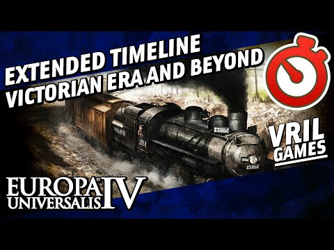EU4 Extended Timeline   Victorian Era and Beyond   1836 AD to 2500 AD Timelapse