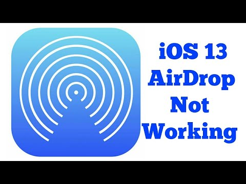 AirDrop Not Working on iPhone iOS 13 (Fixed)