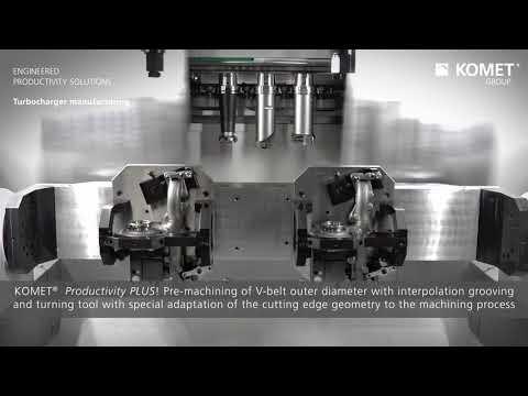 KOMET®  Turbocharger manufacuring