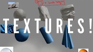 Critique Hour! Texture Studies--How to Render Textures