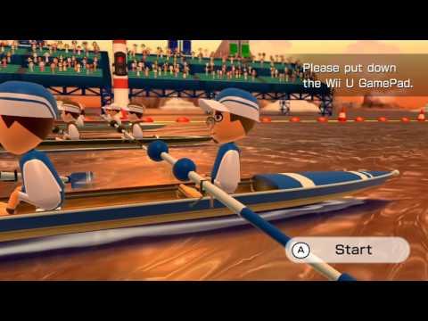 Wii Fit U - Rowing Regatta