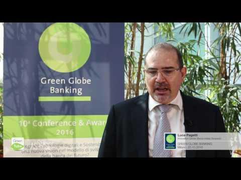 Intervista a Luca Pagetti | X Edizione Green Globe Banking Conference & Award
