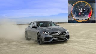 Hitting The Top Speed Of My 740hp Mercedes E63s Amg