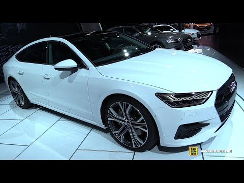 2019 Audi A7 55 TFSI - Exterior and Interior Walkaround - Debut at 2018 Detroit Auto Show