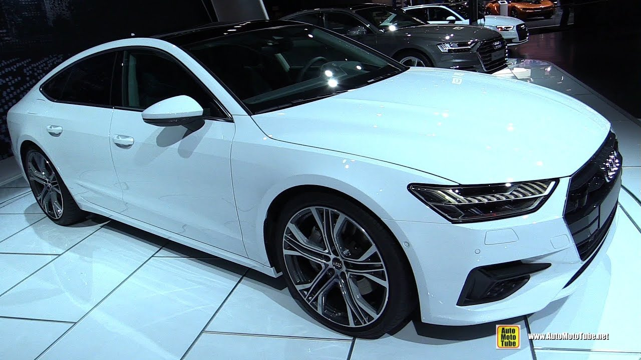 Audi A TFSI Exterior And Interior Walkaround Debut At - Audi detroit