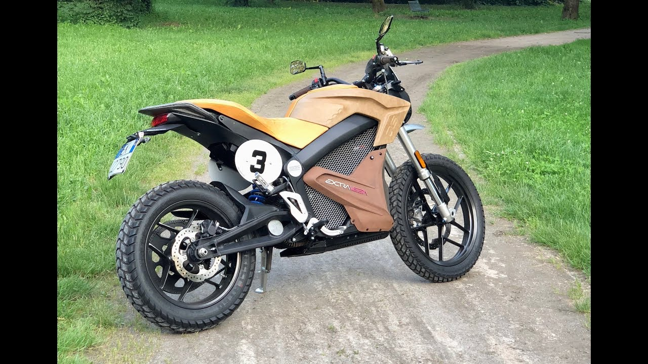 My first time riding an electric motorcycle - Zero DS ...