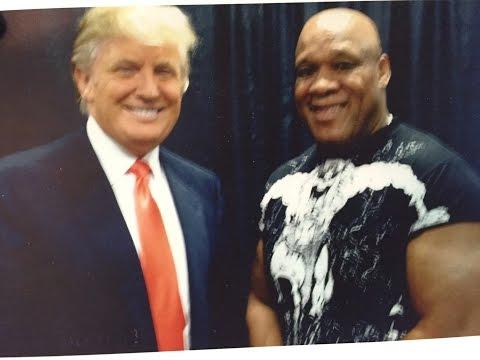Mr. USA Tony Atlas endorses Donald Trump for President of the United States