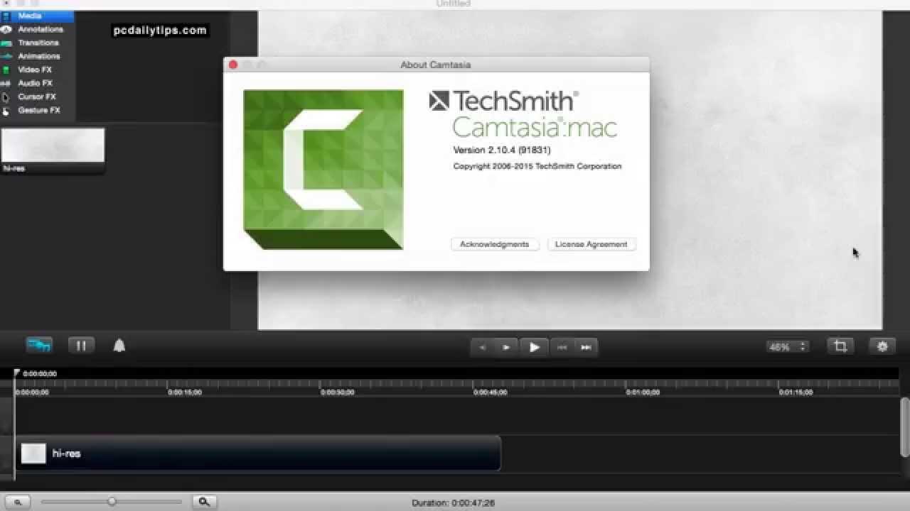 Camtasia Studio For Mac Free Download