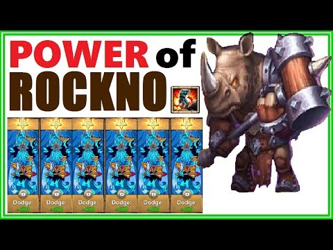 UNKILLABLE: POWER Of ROCKNO Castle Clash