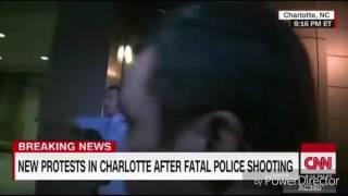 CNN reporter gets tackled