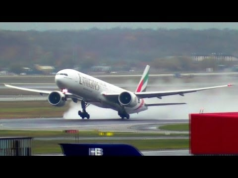 Rainy Spotting at Frankfurt Airport | 45 mins of Stunning Heavies Action + Other Aircraft!