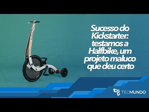 Sucesso Do Kickstarter: Testamos A Halfbike, Um Projeto Maluco Que Deu Certo - TecMundo