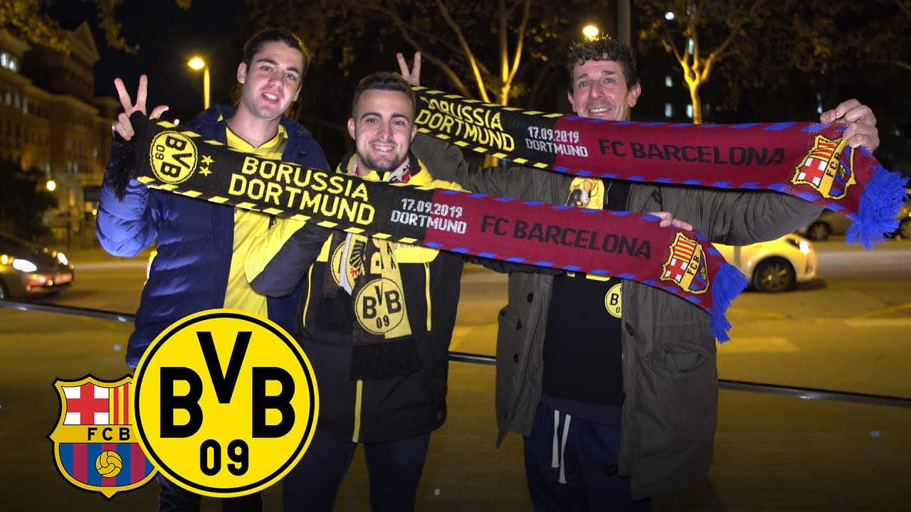 Schwarzgelber Fanclub aus Barcelona | FC Barcelona - BVB