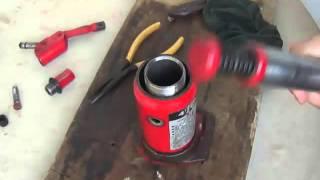 Reparacion de gato hidraulico tipo botella