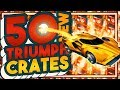 SO. MANY. PAINTED. ITEMS. 50 NEW TRIUMPH CRATE OPENING!!