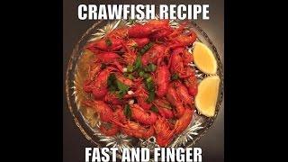 Easy Asian Crawfish Recipe