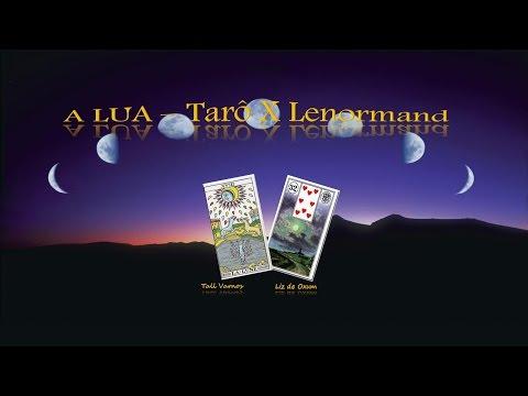 A LUA: Tarot X Lenormand