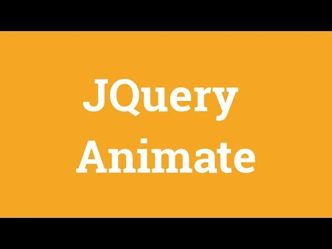 Jquery Tutorial For Beginners -  Jquery Animate And Stop thumbnail