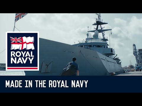 Made in the Royal Navy - Tom's Story