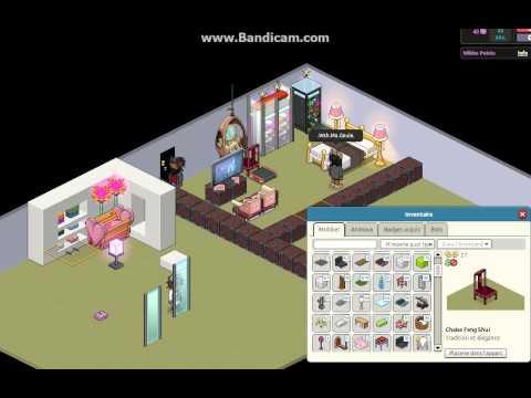 Habbo comment faire une chambre d 39 enfant et une chambre d 39 adulte partie2 youtube for Photo chambre adulte
