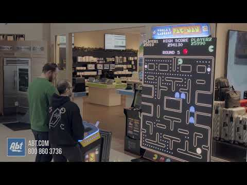 World's Largest PAC-MAN Game