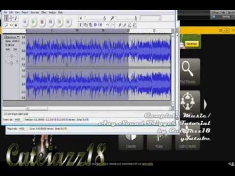 how to use audacity to cut a song