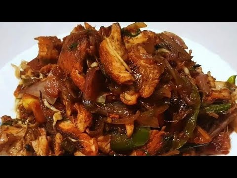What To Make With Leftover Tandoori Chicken | Left Over Chicken Recipe | Chicken Stir Fry