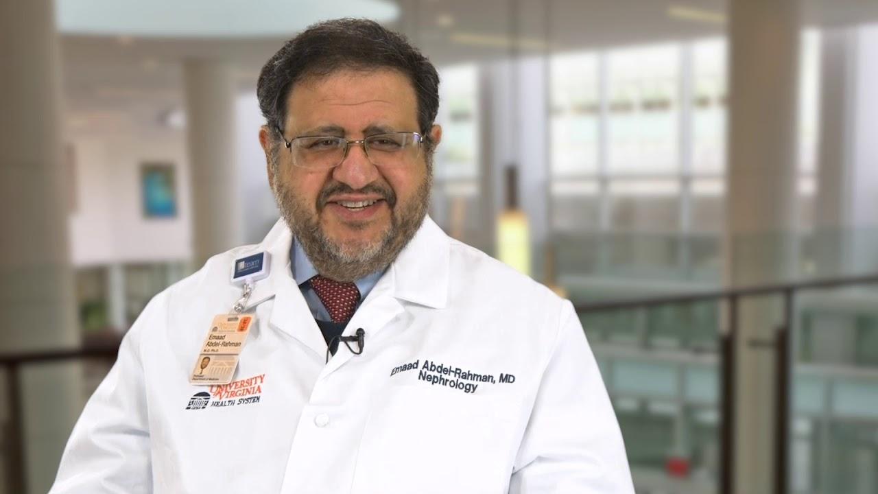 Emaad Abdel-Rahman, MBBS   Nephrology   UVA