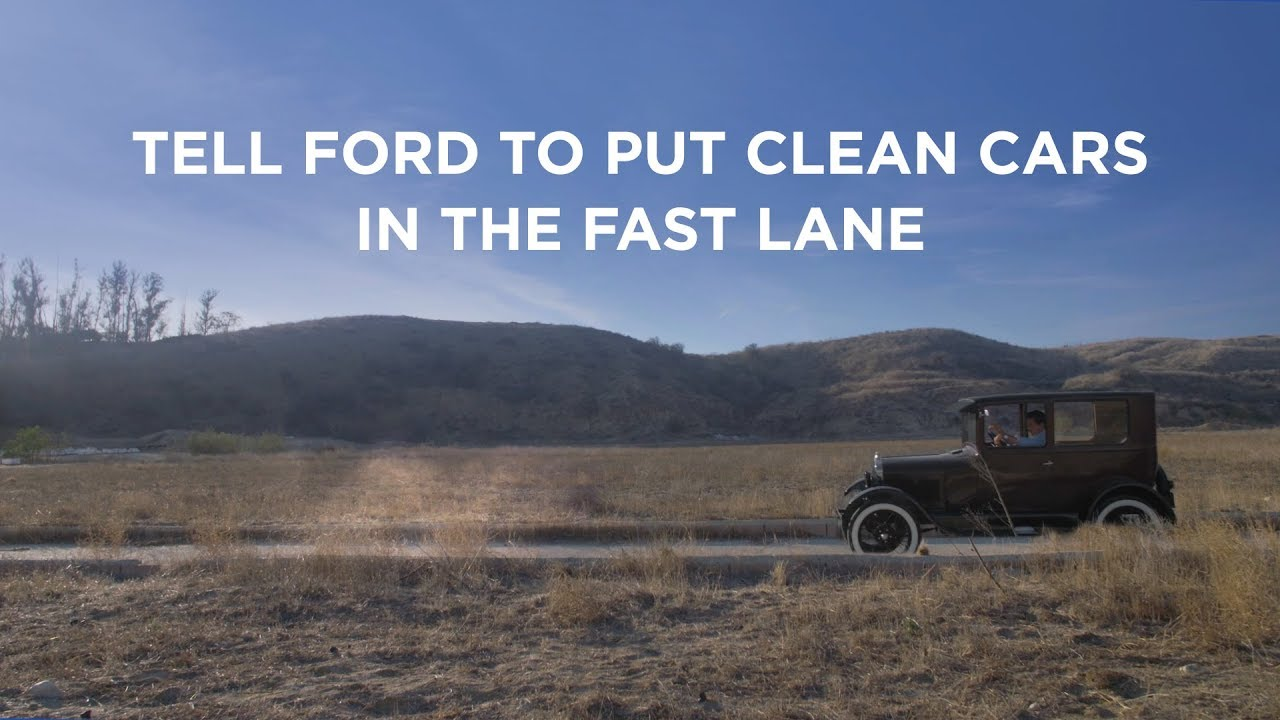 Tell Ford to Put Clean Cars in the Fast Lane